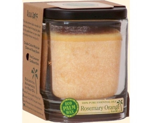 Aloha Bay Candle Aloha Jar Rosemary Orange Peach 11 oz.