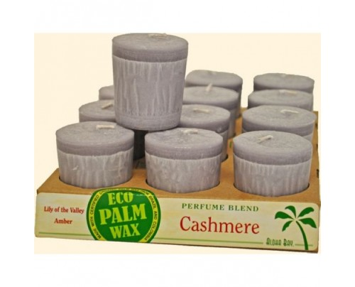 Aloha Bay Candle Votives Cashmere Cornsilk 12-pack
