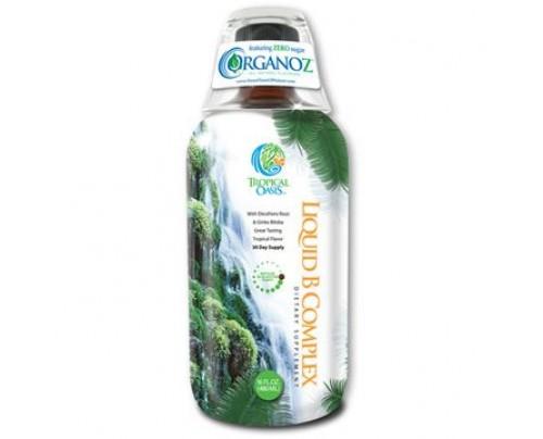Tropical Oasis Vitamin B Complex Liquid Energy Concentrate 16oz.