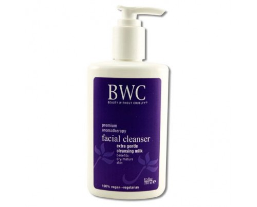 Beauty Without Cruelty Extra Gentle Facial Cleansing Milk 8.5oz.