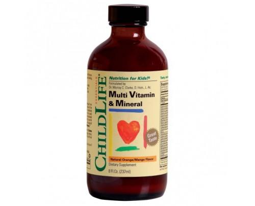 ChildLife Multi Vitamin & Mineral 8 fl. oz.