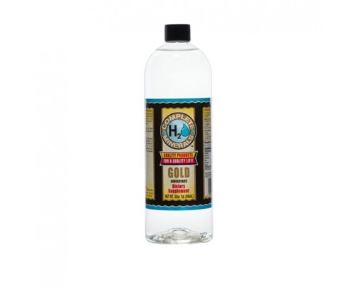 Complete H2O Minerals Gold Ionic Mineral Water 50 ppm 32 fl. oz.