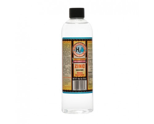 Complete H2O Minerals Zinc Ionic Mineral Water 150 ppm 16 fl. oz.