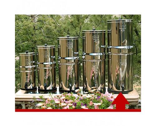 New Millennium Concepts Berkey Crown 6 Gallon Stainless Steel Water Purifier