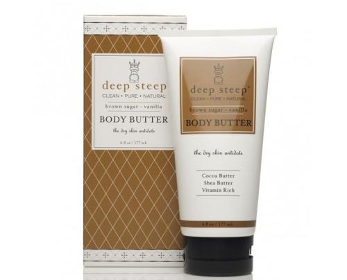 Deep Steep Body Butter Brown Sugar Vanilla 6 fl. oz.