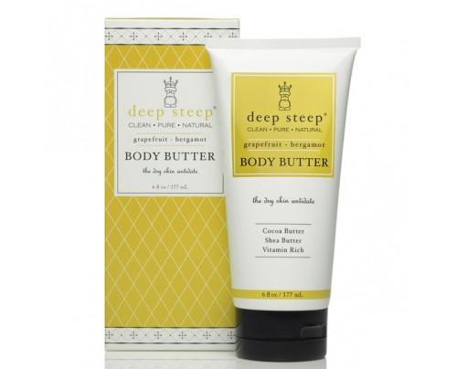 Deep Steep Body Butter Grapefruit Bergamot 6 fl. oz.