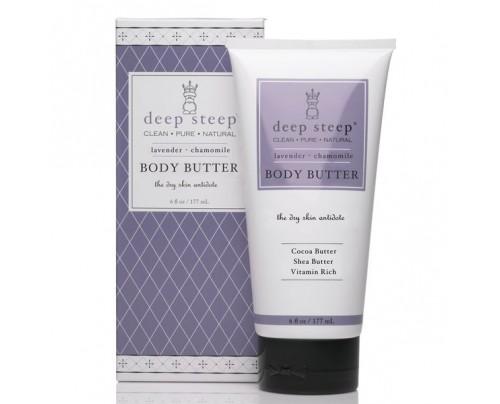 Deep Steep Body Butter Lavender Chamomile 6 fl. oz.