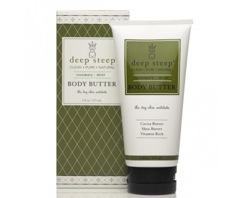 Deep Steep Body Butter Rosemary Mint 6 fl. oz.