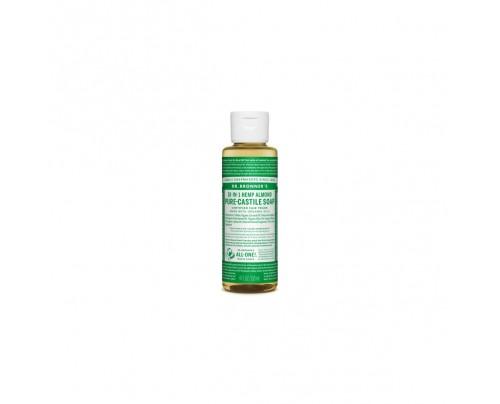Dr. Bronner's Organic 18-in-1 Hemp Pure Castile Liquid Soap Almond 4 fl. oz.