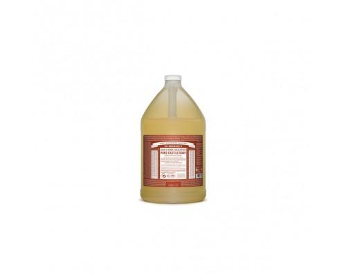 Dr. Bronner's Organic 18-in-1 Hemp Pure Castile Liquid Soap Eucalyptus Gallon