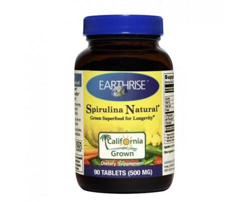 Earthrise Spirulina Natural 500mg 90 Tablets