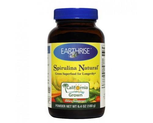 Earthrise Spirulina Natural Powder 6.4oz.