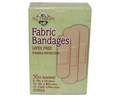 All Terrain Fabric Bandages Assorted 30 Pieces