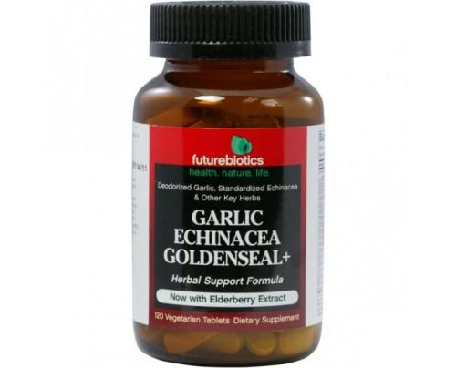 Futurebiotics Garlic Echinacea Goldenseal Plus 120 Vegetarian Tablets