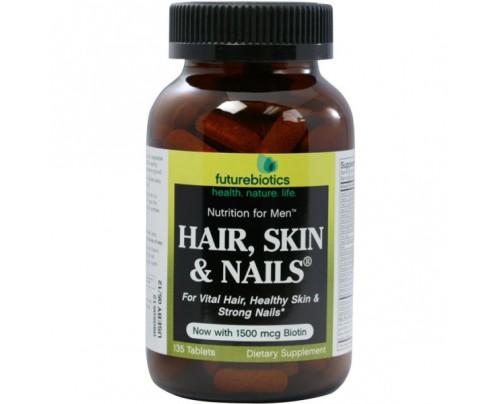 Futurebiotics Hair, Skin & Nails for Men 135 Tablets