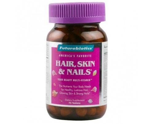 Futurebiotics Hair, Skin & Nails for Women 75 Tablets