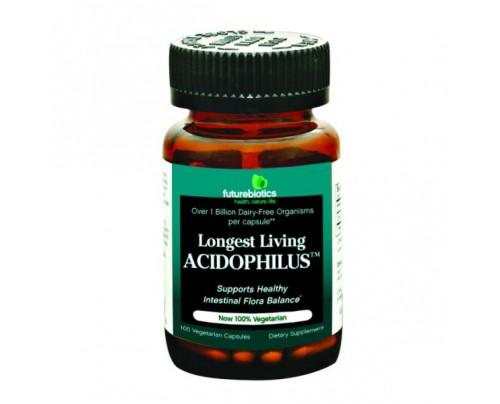 Futurebiotics Longest Living Acidophilus 100 Capsules