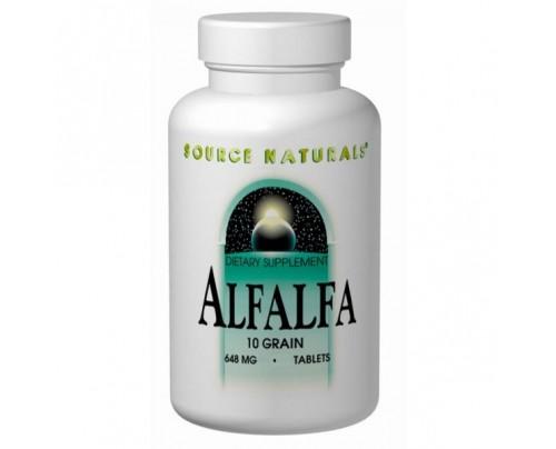 Source Naturals Alfalfa 108 mg Tablets
