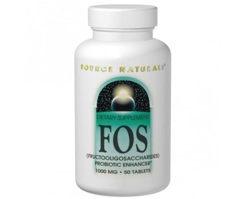 Source Naturals FOS 1,000mg Tablets & Powder