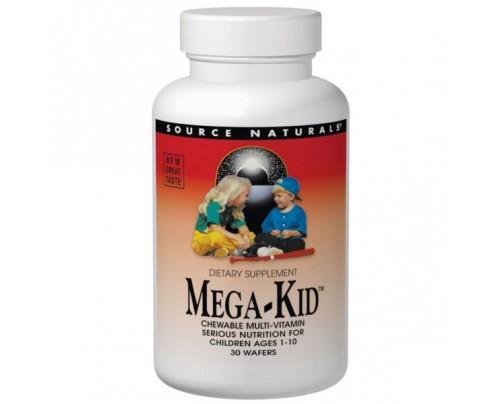 Source Naturals Mega-Kid Multiple Wafers