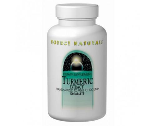 Source Naturals Turmeric Extract 95% Curcumin 350mg Tablets