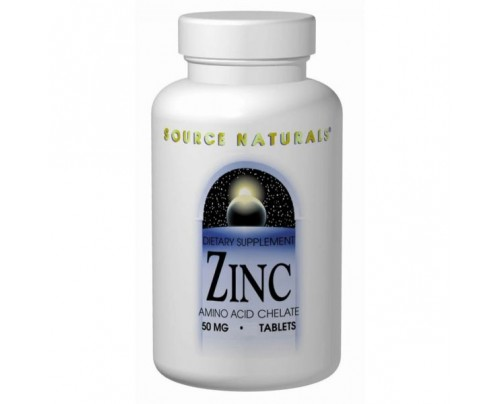 Source Naturals Zinc 50mg Tablets