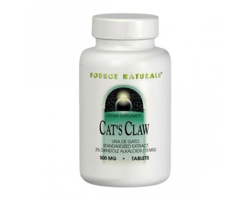Source Naturals Cat's Claw (Una de Gato) 3% Std Extract Tablets & Liquid
