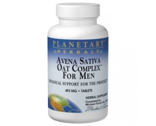 Planetary Herbals Avena Sativa Oat Complex for Men 480mg Tablets