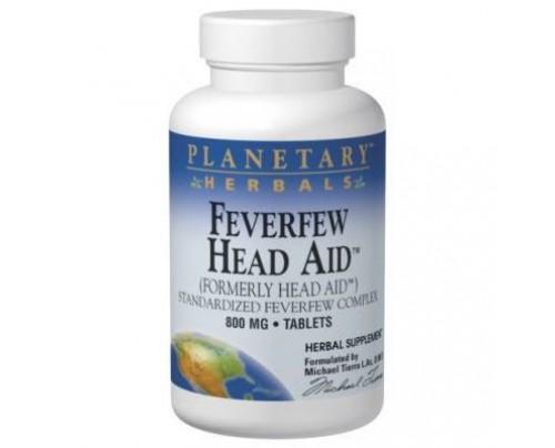 Planetary Herbals Feverfew Head Aid 615mg Tablets