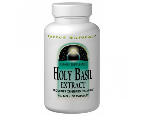 Source Naturals Holy Basil Extract 450mg Capsules