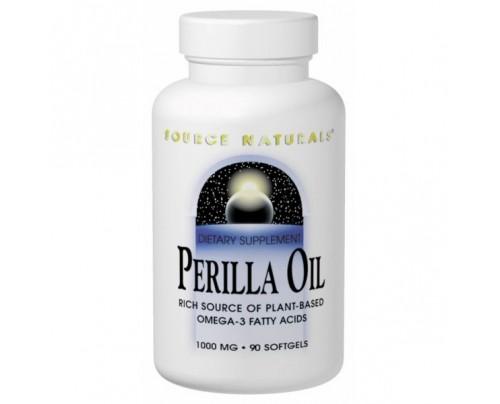 Source Naturals Perilla Oil 1,000mg Softgels