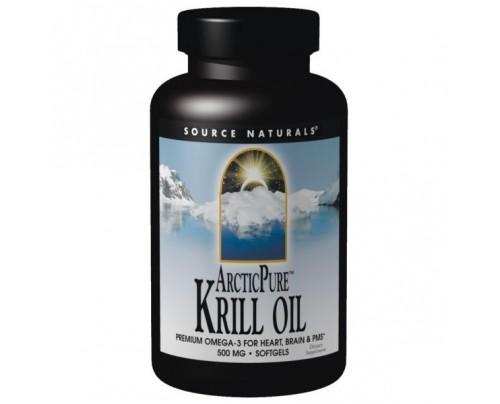 Source Naturals ArcticPure Krill Oil 1,000mg Softgels