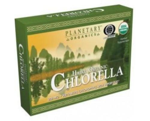 Planetary Herbals Haiku Organic Chlorella 200mg Tablets