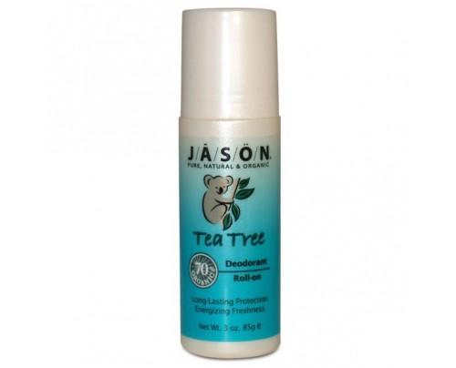 Jason Deodorant Tea Tree Oil Roll-On 3oz.