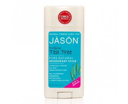 Jason Deodorant Tea Tree Oil Stick 2.5oz.