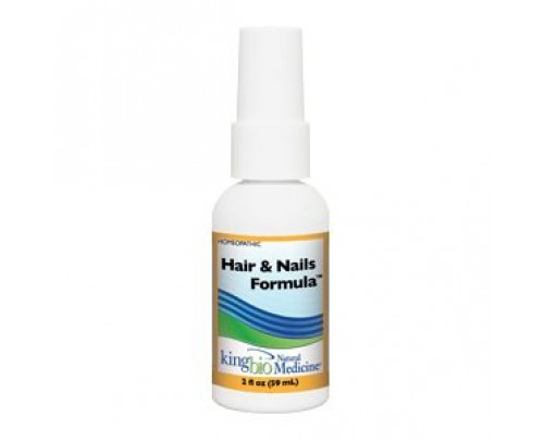 King Bio Homeopathic Hair & Nails Formula 2oz.