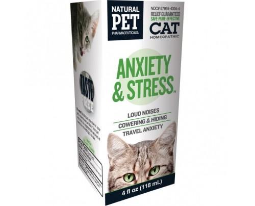 King Bio Natural Pet Cat: Anxiety & Stress 4oz.