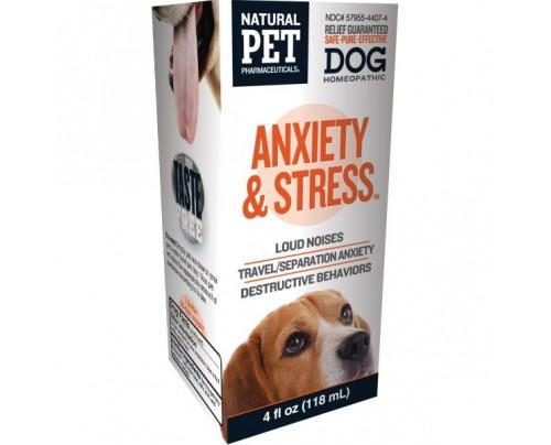King Bio Natural Pet Dog: Anxiety & Stress 4 fl. oz.