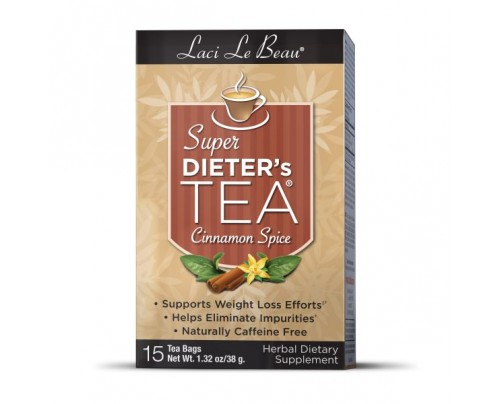 Laci Le Beau Super Dieters Tea Cinnamon Spice 15 Teabags