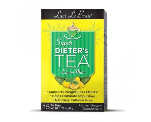 Laci Le Beau Super Dieters Tea Lemon Mint 15 Teabags