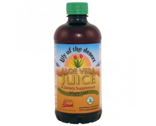Lily Of The Desert Aloe Vera Juice Whole Leaf 32 oz.