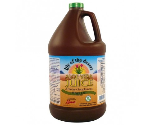 Lily Of The Desert Aloe Vera Juice Whole Leaf Gallon