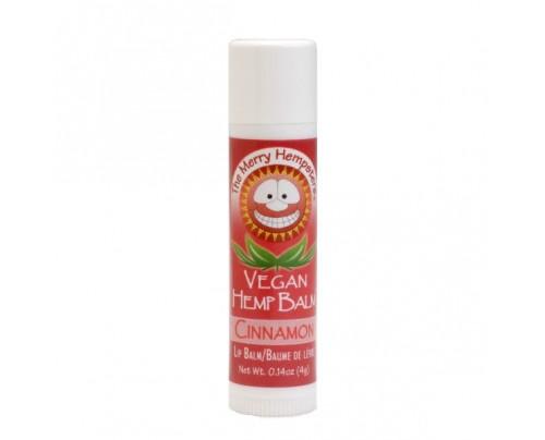 Merry Hempsters Vegan Hemp Lip Balm Cinnamon 0.14 oz.