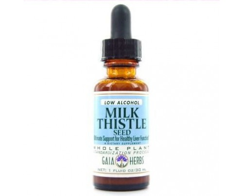 Gaia Herbs Milk Thistle Seed Low Alcohol Extract
