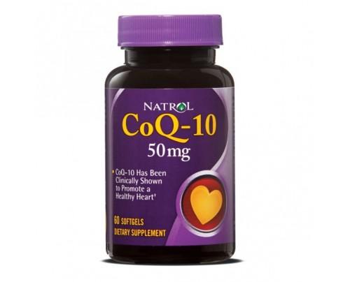 Natrol CoQ10 50mg 60 Capsules