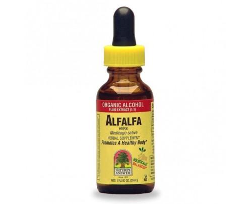 Nature's Answer Alfalfa Herb Organic Extract 1oz.