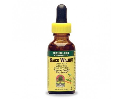 Nature's Answer Black Walnut Hulls Alcohol-Free Extract 1oz.