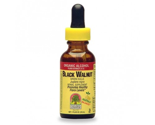 Nature's Answer Black Walnut Hulls Extract 1oz.