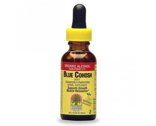Nature's Answer Blue Cohosh Extract 1oz.