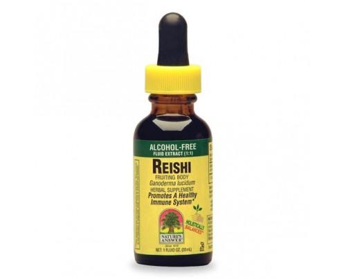 Nature's Answer Reishi Mushroom Fruiting Body Alcohol-Free Extract 1oz.
